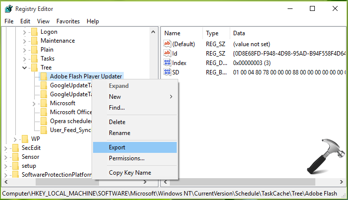 The Task XML Contains A Value Which Is Incorrectly Formatted Or Out Of Range Windows 10
