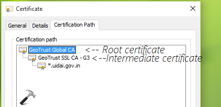 FIX There Is A Problem With This Website's Security Certificate