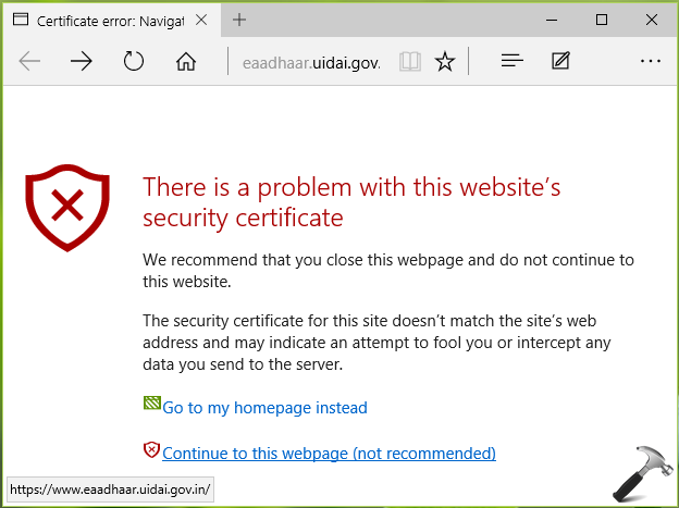 how to put security on website