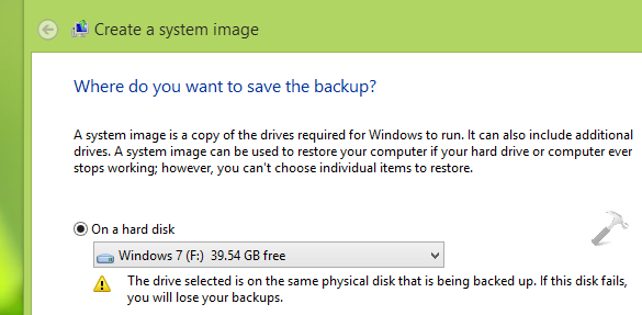 FIX There Was A Failure In Preparing The Backup Image Of One Of The Volumes