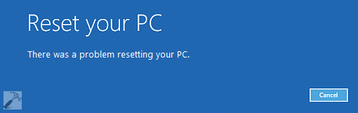 fix   u0026quot there was a problem refreshing your pc u0026 39  u0026 39  in windows 10