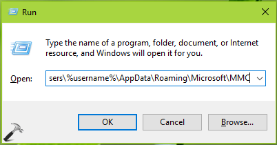 FIX This Snap-in Performed A Non-Valid Operation And Has Been Unloaded In Windows 10