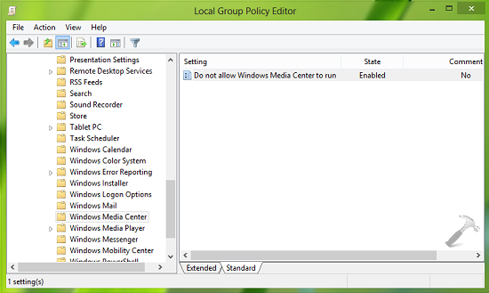 FIX Unable To Open Windows Media Center On Windows 8.1 1