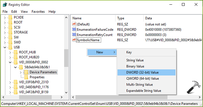 [FIX] Unknown USB Device (Device Descriptor Request Failed) In Windows 10