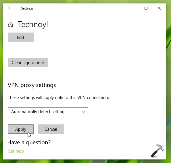 FIX VPN Not Working In Windows 10 V1903
