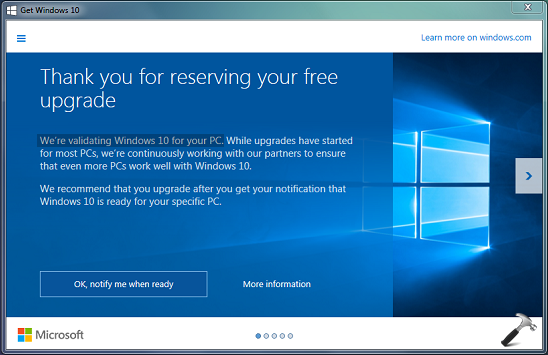 FIX - We're Validating Windows 10 For Your PC