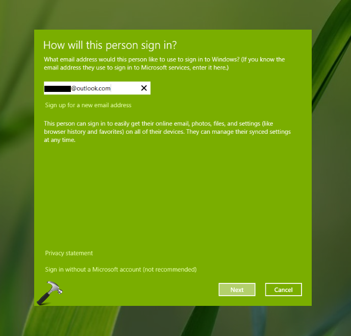 FIX We Can't Add A User To The Device Right Now In Windows 10