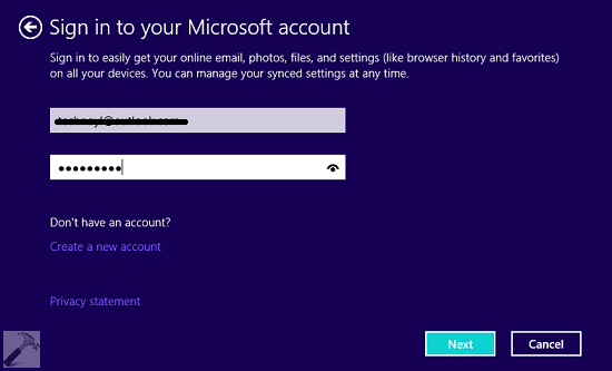 We Couldn't Sign You In. Bad Length Error For Windows Store