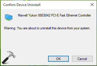 lỗi ethernet doesnt have a valid ip configuration windows 8