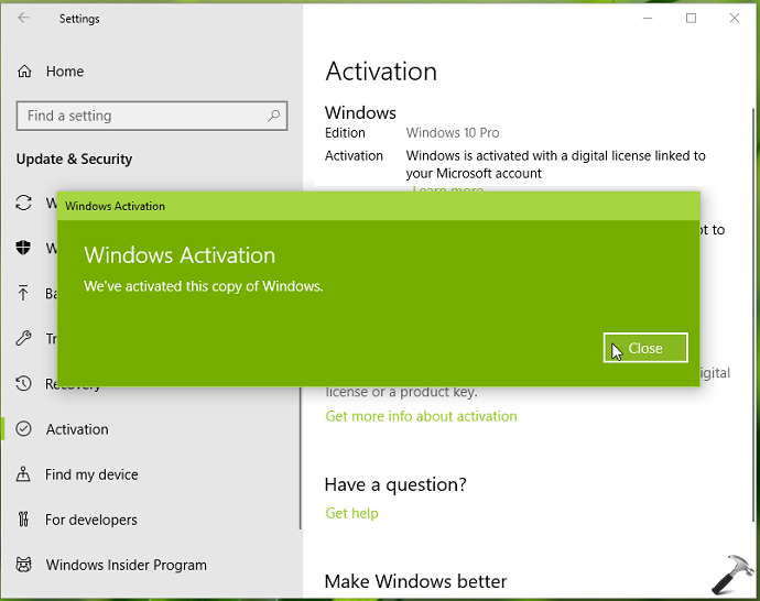 FIX Windows 10 Activation Lost After Hardware Change