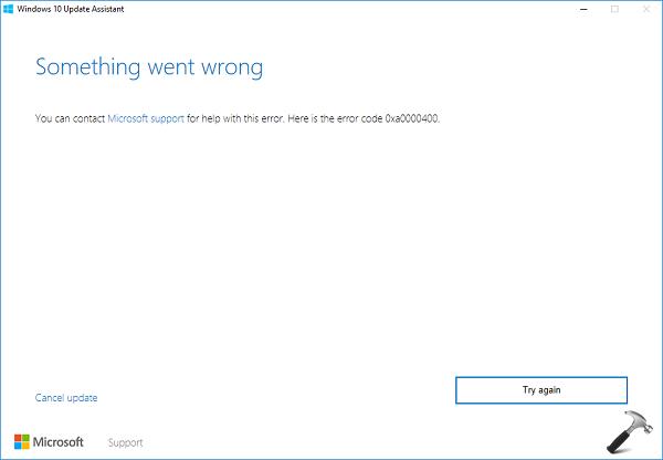 FIX Windows 10 Anniversary Update Failed To Install