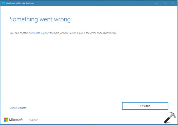 FIX Windows 10 Creators Update Failed To Install