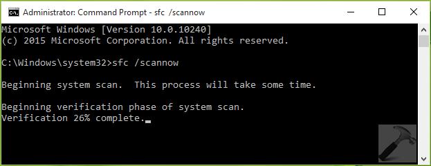 FIX - Windows 10 Element Not Found Error