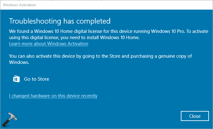 FIX Windows 10 Is Suddenly Not Activated