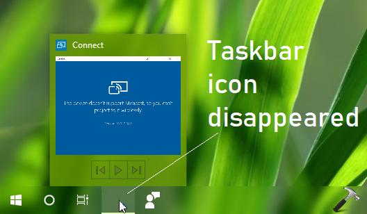 FIX] Windows 10 Pinned Taskbar Icons Disappear