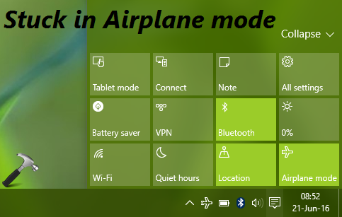 FIX Windows 10 Stuck In Airplane Mode