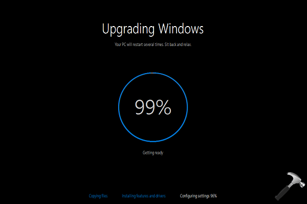 [FIX] Windows 10 Upgrade Stuck At 99 Percent