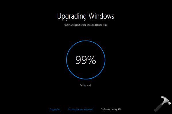 [FIX] Windows 10 Upgrade Stuck At 99 Percent