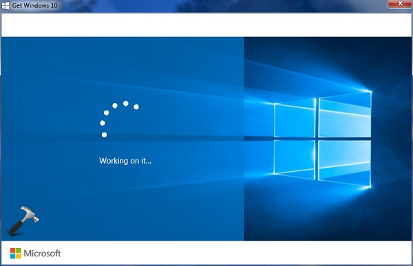 FIX Windows 10 Working On It Message While Upgrade