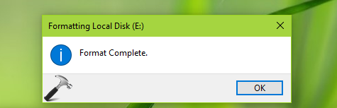 FIX Windows Cannot Format This Drive In Windows 10