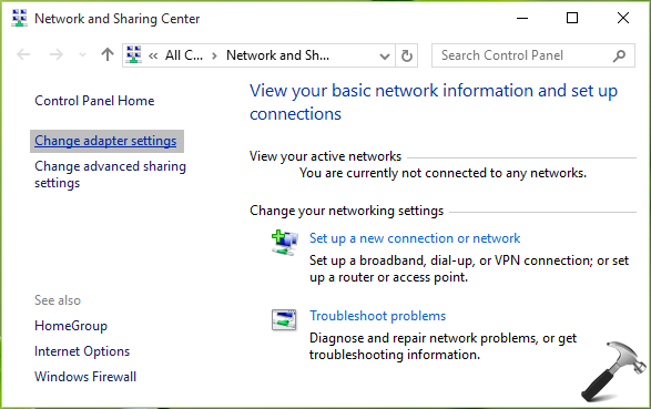 FIX Windows Couldn't Automatically Bind The IP Protocol Stack To The Network Adapter In Windows 10