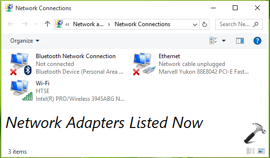 FIX Windows Could Not Start The Network Connections Service On Local Computer Windows 10