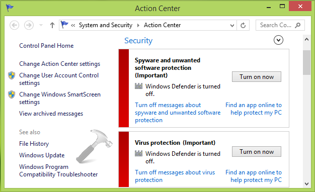 FIX] Windows Could Not Start The Windows Defender Network Inspection