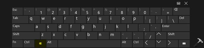 FIX Windows Key On Keyboard Not Working In Windows 10