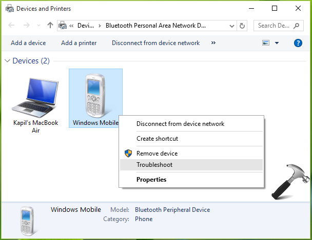 FIX] Windows Was Unable To Connect With Your Bluetooth