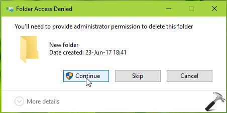 how do i get administrator permission on windows 10