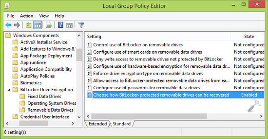 [FIX] You Can't Create Both A Recovery Password And A Recovery Key For BitLocker Drive Encryption
