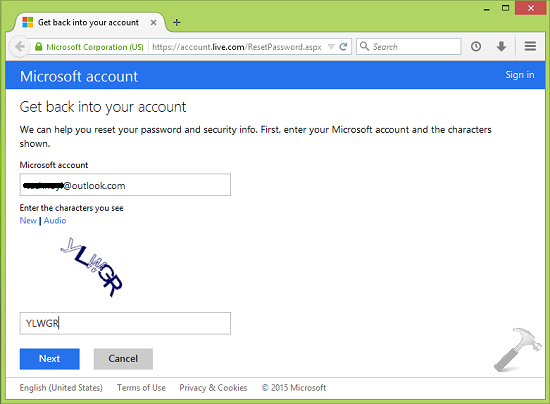 You Can't Sign In Tso Your PC Right Now In Windows 8 Or Later