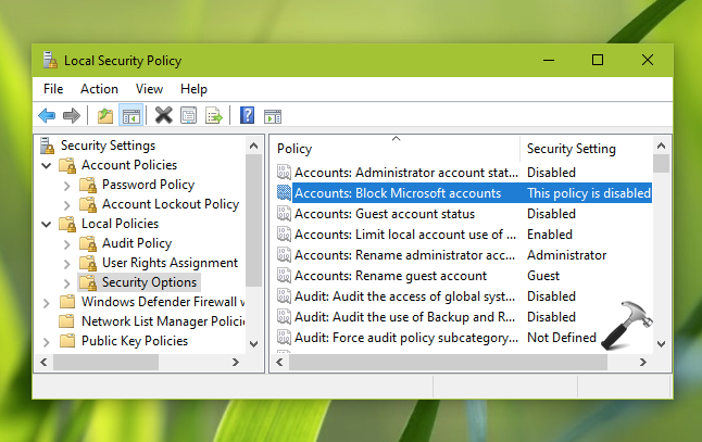 Your Microsoft Account Wasn't Changed To A Local Account In Windows 10