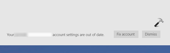 FIX - Your Outlook Account Settings Are Out Of Date