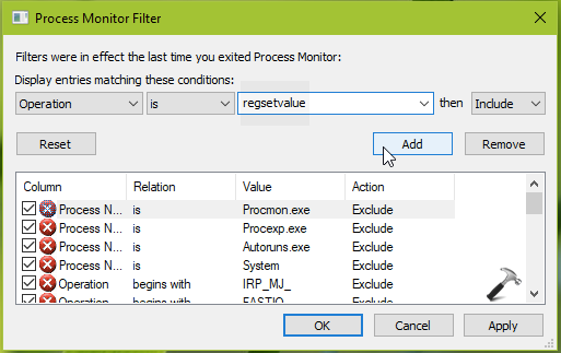 How To Find Registry Key Corresponding To UI Option In Windows