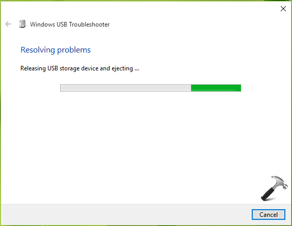 Fix Flash Drive Problems With USB Troubleshooter On Windows 10