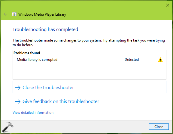 FIX Problems With Windows Media Player In Windows 10