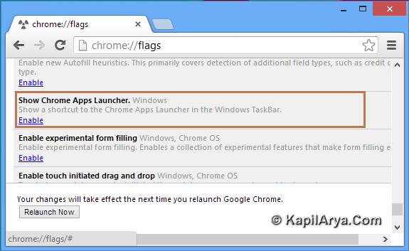 how to put chrome on taskbar