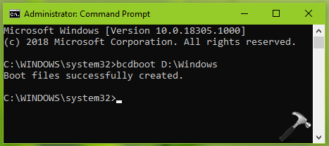 How To Add Parallel OS Boot Entry To Boot Manager In Windows 10