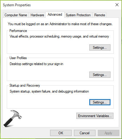 How To Allow Or Prevent Windows 10 To Create Dump Files