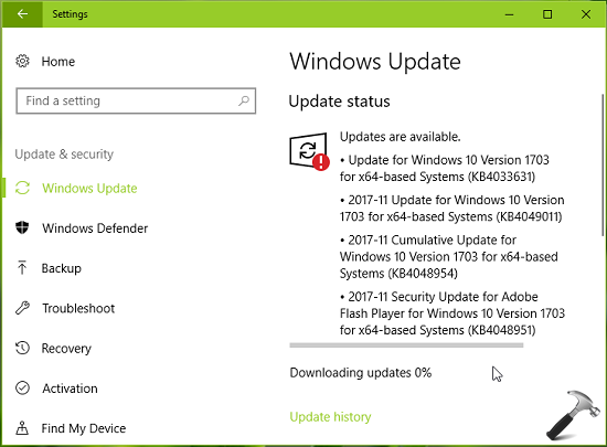 How To Block Specific Windows Update In Windows 10