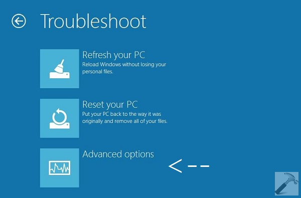 How To] Boot Into System Recovery Options For Windows 8.1