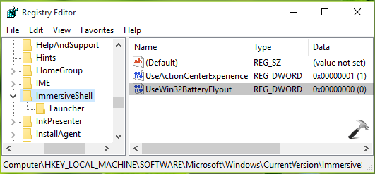 How To Bring Back Old Battery Level Indicator In Windows 10