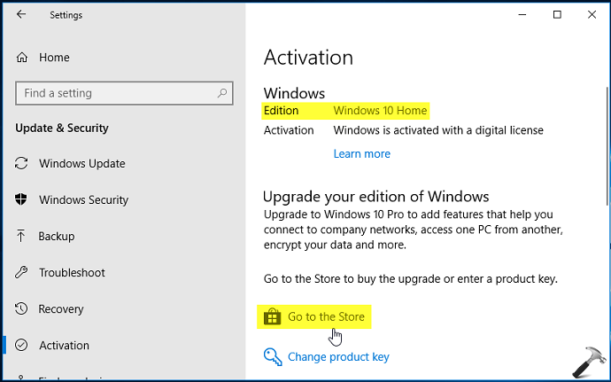 How To Buy Windows 10 Pro Upgrade Via Microsoft Store