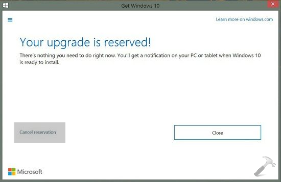 How To Cancel Windows 10 Reservation For Free Upgrade