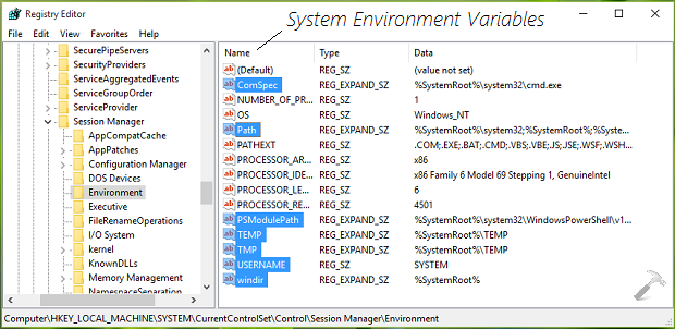 How To Change System And User Environment Variables In Windows 10