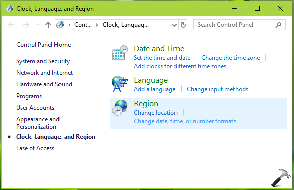 How To Change System Locale In Windows 10