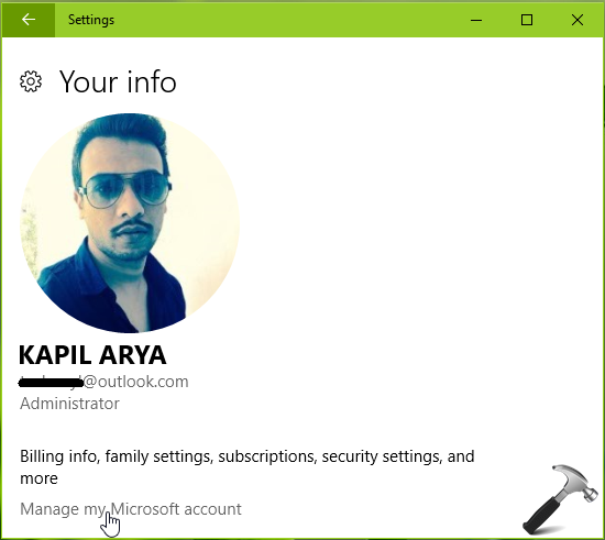 How To Change User Account Name In Windows 10