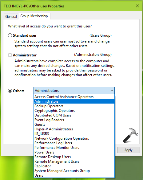 How To Change User Account Type In Windows 10