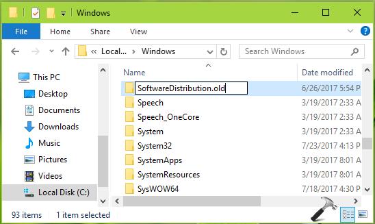 How To Change Windows Update Download Location In Windows 10